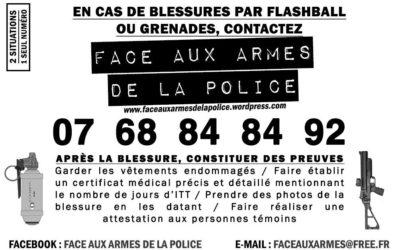 Face aux armes de la police – Rouen