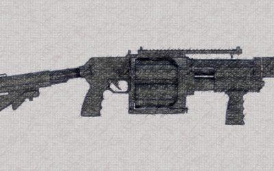 "La police française se dote du ""riot-gun Penn Arms"" (PGL65)"