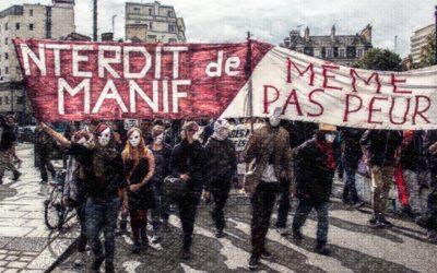 """Site """"Interdits de manif"""""""