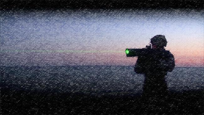 LDI : une arme laser anti-émeute pour en mettre plein lesyeux à Calais