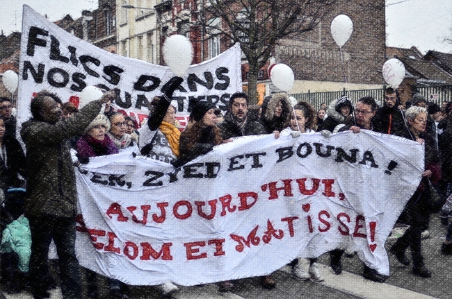 Après la marche (blanche) pour Selom et Matisse du 13 janvier 2018 à Lille