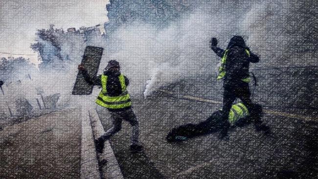 1er décembre 2018 : encore de nombreux blessés graves lors de la manifestation des gilets jaunes