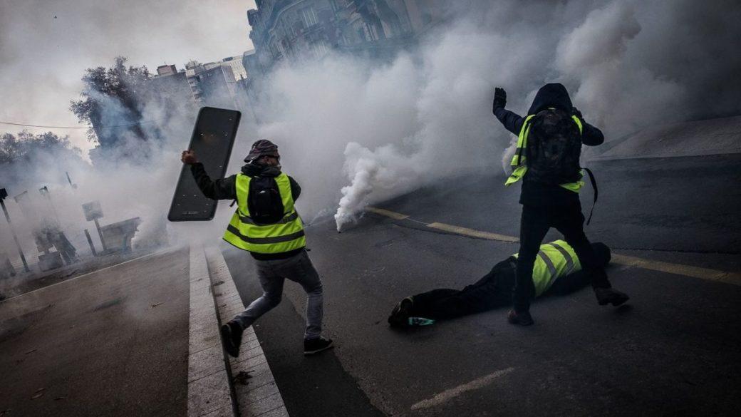 Recensement provisoire des blessés des manifestations du mois de novembre-décembre 2018