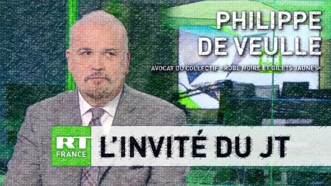 """Philippe de Veulle, qui défend plusieurs blessé-es """"gilets jaunes"""", n'est pas de notre goût"""