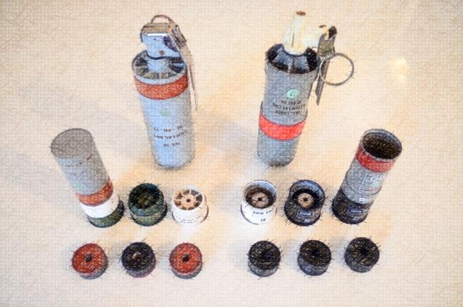 Sur les nouvelles grenades lacrymogènes de 40 mm CM3 et MP3