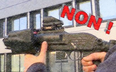 """Action le 9 mars 2019 à l'Haÿ-les-Roses : Il n'y a pas d'armes """"intelligentes""""!"""