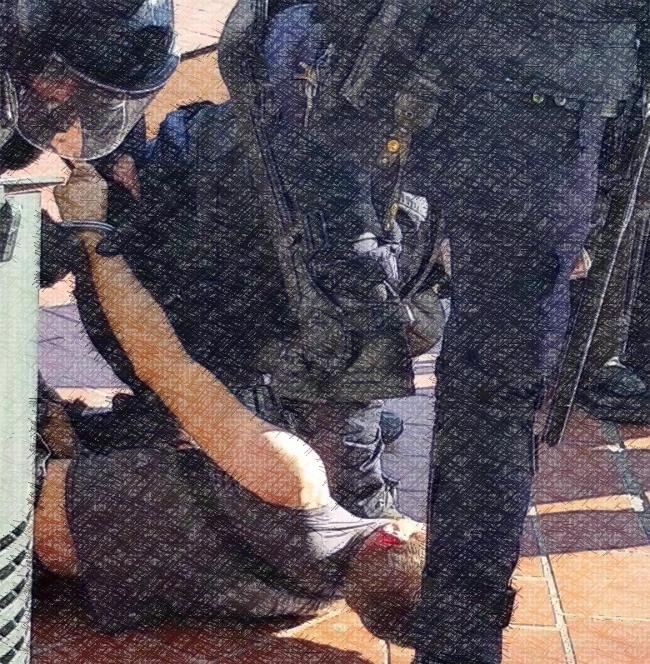 IanB, membre de Désarmons-les! revient sur son arrestation à Montpellier le 28 septembre 2019
