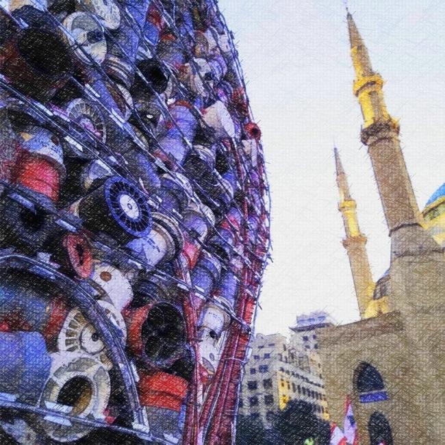 L'Etat libanais réprime la révolte de son peuple avec des armes 100% françaises