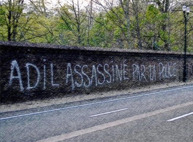 De Morgen – «On l'a! On l'a percuté!» Reconstitution de la mort d'Adil à Anderlecht