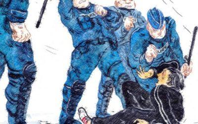 L'envolée culturelle – « Coup d'boule, flashball, et vive la France »