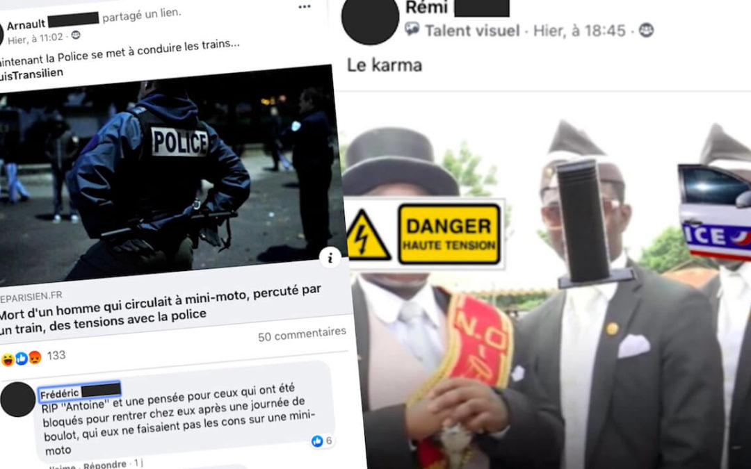 Street Press – Des milliers de policiers s'échangent des messages racistes sur un groupe Facebook