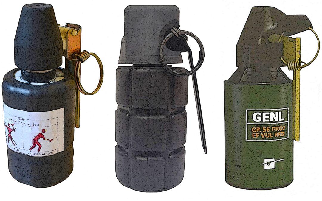 Grenades de désencerclement (GMD) : il n'y a pas de bonnes grenades !