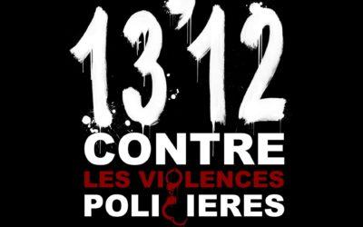 INITIATIVE – 13'12 de rap contre les violences policières !