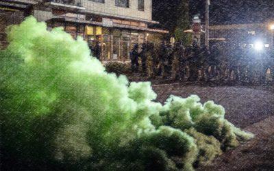 CrimethInc. – Guide du manifestant pour comprendre les munitions anti-émeute et comment s'en protéger