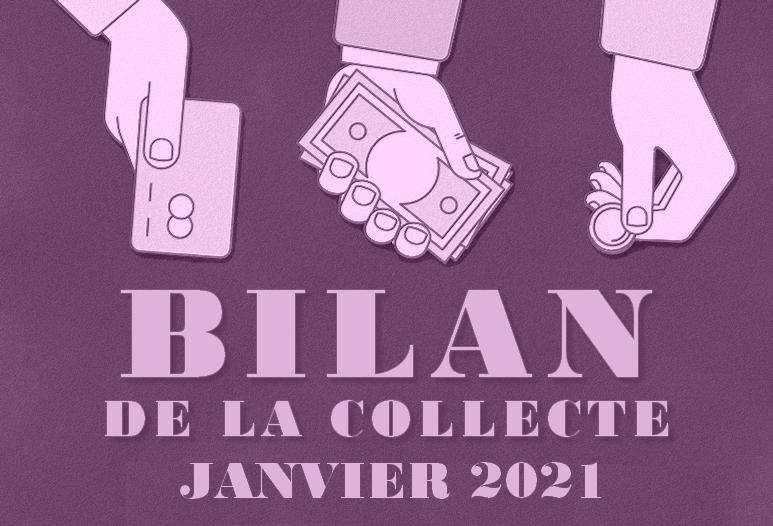 Bilan des collectes à l'attention des victimes de violences policières – Janvier 2021