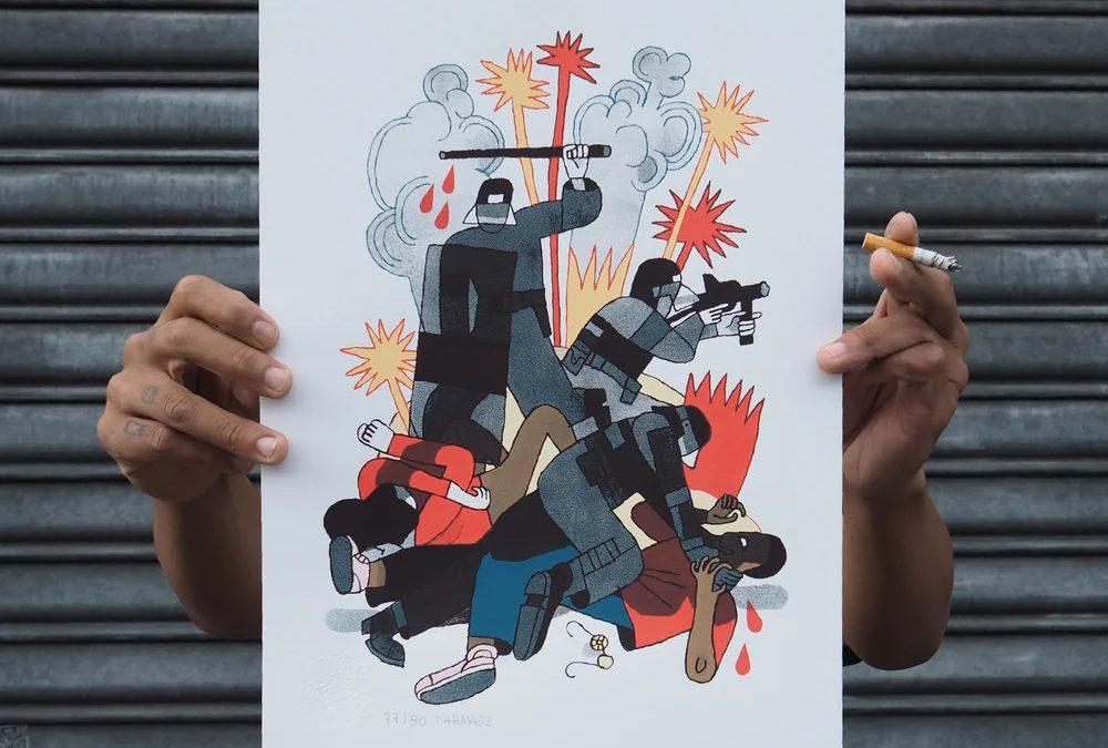 INITIATIVE – Le Schlaglab contre les violences policières